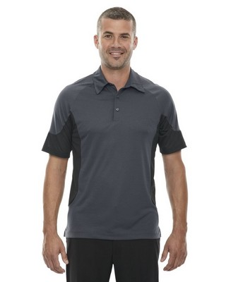 North End Red Mens Refresh Jersey Polo