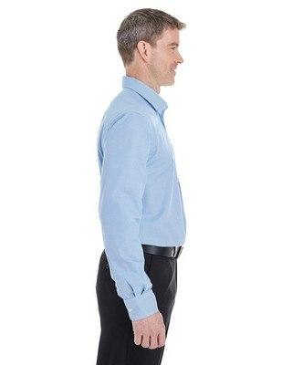 Devon & Jones Mens Crown Collection Royal Dobby Shirt