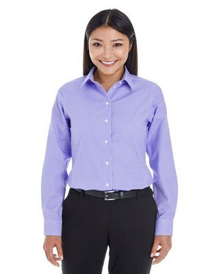 Devon & Jones Ladies Crown Collection Royal Dobby Shirt