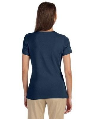 Devon & Jones Ladies Perfect Fit Shell T-Shirt