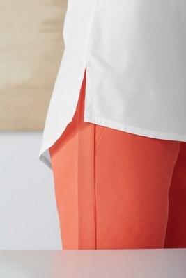 Devon & Jones Ladies Perfect Fit Half-Placket Tunic Top