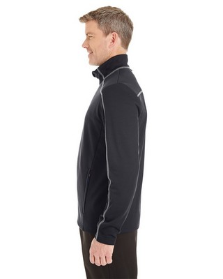 North End Mens Endeavor Interactive Performance Fleece Jacket