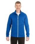 Picture of North End Mens Amplify Melange Fleece Jacket