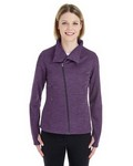 Picture of North End Ladies Amplify Melange Fleece Jacket