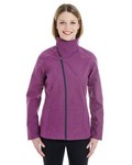 Picture of North End Ladies Edge Soft Shell Jacket with Fold-down Collar