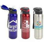 Picture of Stratford 17oz Pop-Top Vacuum Insulated Stainless Steel Bottle