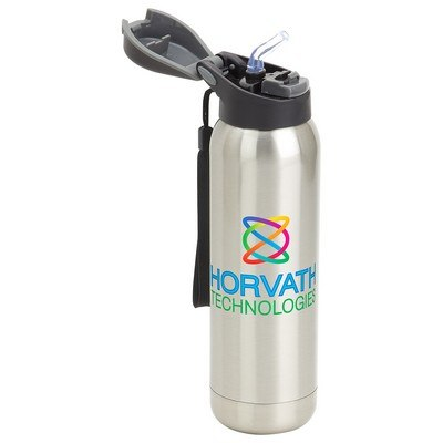 Stratford 17oz Pop-Top Vacuum Insulated Stainless Steel Bottle