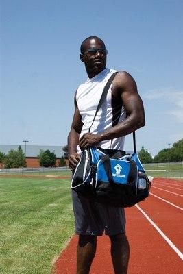 Marathon Sports Duffel Bag Blue