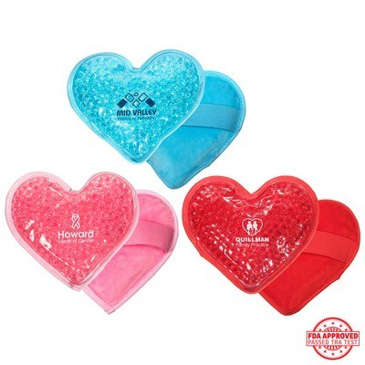 Plush Heart Hot and Cold Pack
