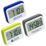Picture of Soft Touch Widescreen Kitchen Timer/Clock