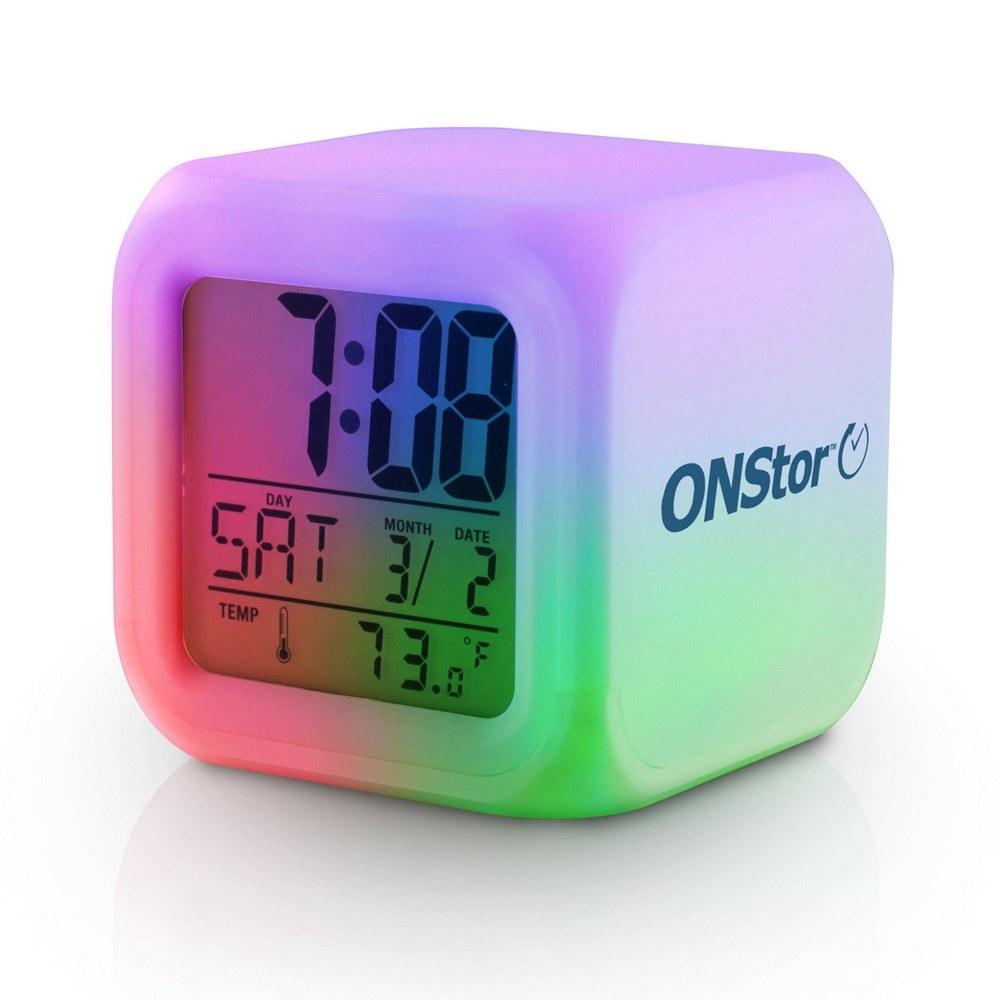 Promotional Color Changing Led Alarm Clocks Promotion Pros