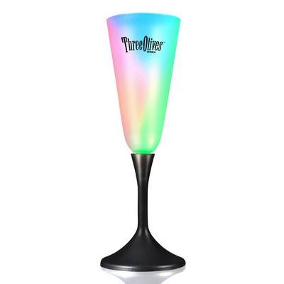 Frosted LED Champagne Glass