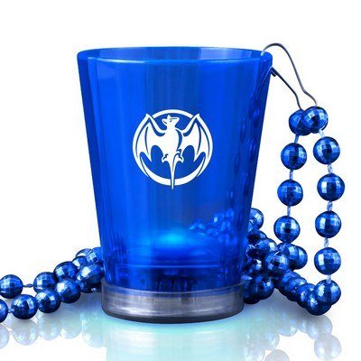 LED Shot Glasses with Beads
