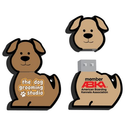 Dog Shaped USB Drive- 1 GB