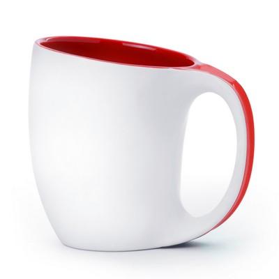 12oz Porcelain Saphire Mug