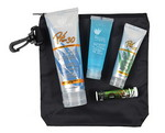 Picture of Deluxe Nylon Clip Bag with 30 SPF Sunscreen, 15 SPF Sunscreen, Jelly and Lip Balm
