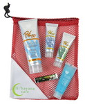 Picture of Large Mesh Bag with Pro 50 SPF Sunscreen, Pro 30 SPF Sunscreen, Pro 15 SPF Sunscreen, Jelly and Lip Balm