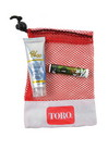 Picture of Small Mesh Bag with Sunscreen and Lip Balm