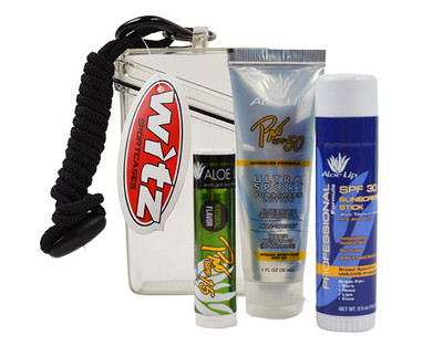 Witz Case with Sunscreen, Sun Stick and Lip Balm