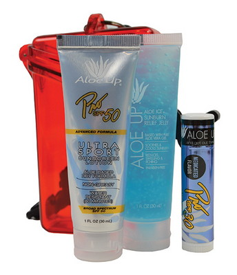 Witz Case with Sunscreen, Jelly, and Lip Balm