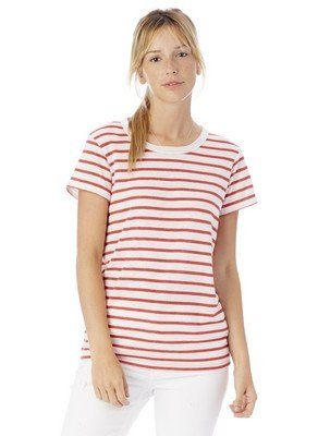 Alternative Ideal Striped Eco-Jersey T-Shirt