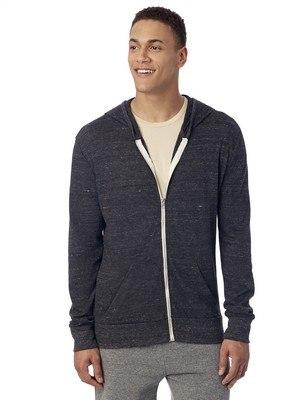 Alternative Basic Eco-Jersey Zip Hoodie
