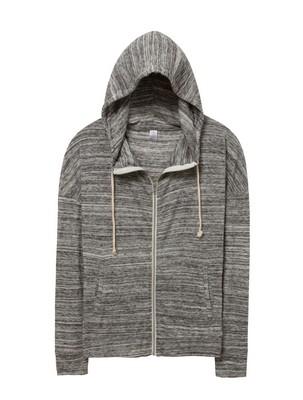 Alternative Cool Down Eco-Jersey Zip Hoodie