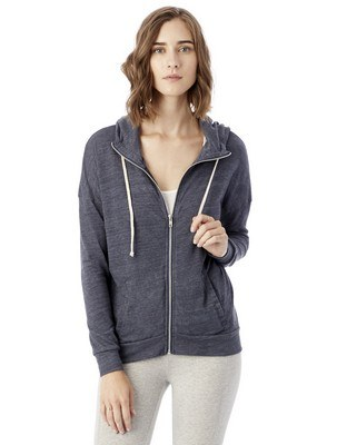 Alternative Cool Down Eco-Jersey Zip Hoodie