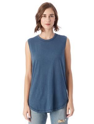 Alternative Inside Out Garment Dye Slub Sleeveless T-Shirt