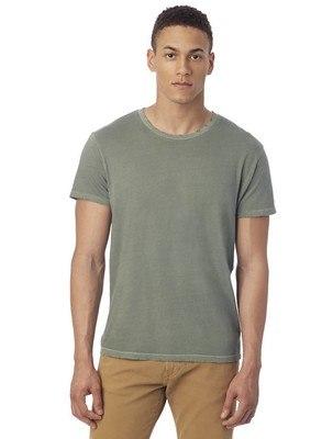 Alternative Heritage Garment Dyed Distressed T-Shirt