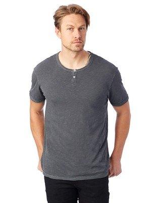 Alternative Home Team Garment Dyed Slub Henley Shirt