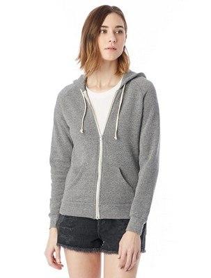 Alternative Adrian Eco-Fleece Zip Hoodie