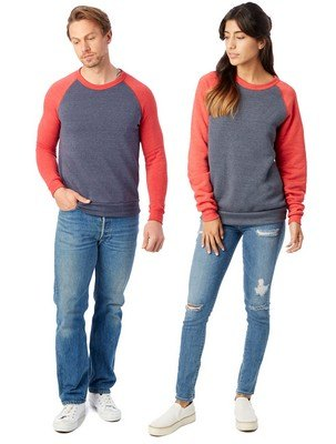 Alternative Champ Color-Block Eco-Fleece Sweatshirt