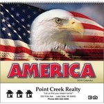 Picture of America Wall Calendar - Spiral