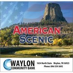 Picture of American Scenic Wall Calendar- Stapled