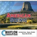 Picture of American Scenic Wall Calendar- Spiral