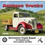 Picture of Antique Trucks Wall Calendar - Spiral