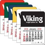 Picture of Rectangle Vinyl Adhesive Mini Stick 2017 Calendar