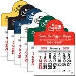Picture of Small Circle Vinyl Adhesive Mini Stick 2017 Calendar
