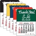 Picture of Thank You!  Vinyl Adhesive Mini Stick 2017 Calendar