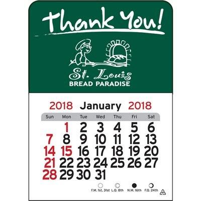 Thank You!  Vinyl Adhesive Mini Stick 2017 Calendar
