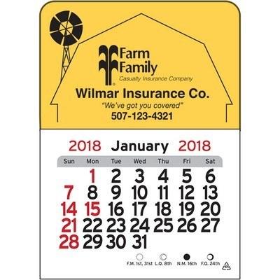 Barn Vinyl Adhesive Mini Stick 2017 Calendar