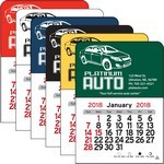 Picture of Car Vinyl Adhesive Mini Stick 2017 Calendar