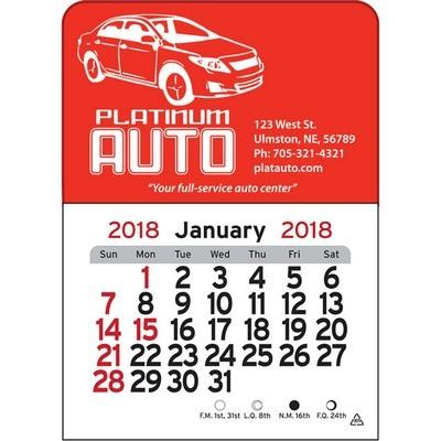 Car Vinyl Adhesive Mini Stick 2017 Calendar