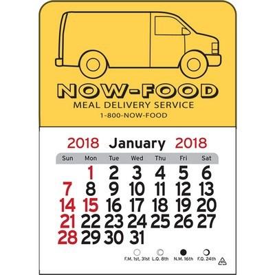 Van Vinyl Adhesive Mini Stick 2017 Calendar