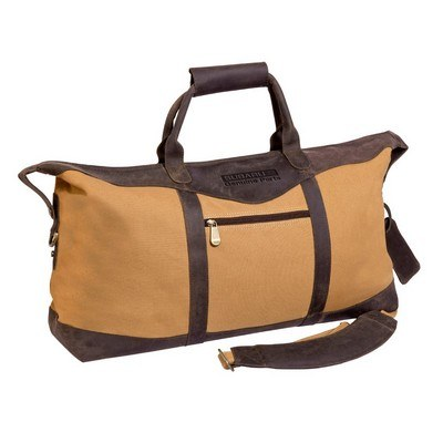 Utah Canyon Leather Duffel Bag