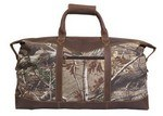 Picture of Realtree Camo Leather Duffel Bag