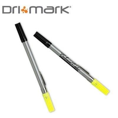 Double Header Nylon Point Pen & Highlighter - Silver