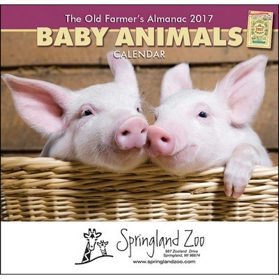 The Old Farmer's Almanac Baby Animals - Stapled