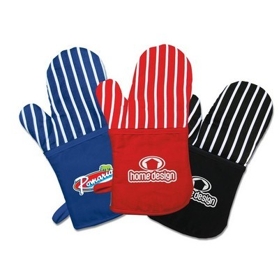 Oven Mitt with Stripes